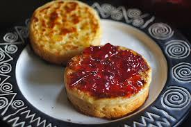 Crumpets - the strange things we miss...!!