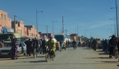 A busy main street