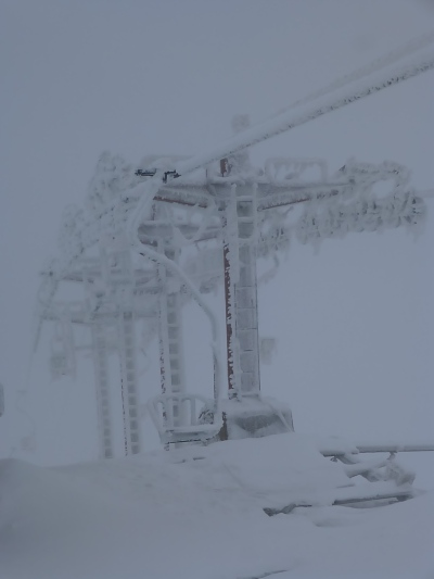 A long forgotten chair lift in Kosovo (have you ever seen a one person chair lift before??!)
