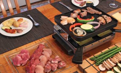 Raclette is so good!