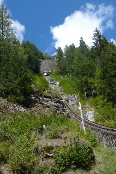 One of the 2 incredible funicular railways