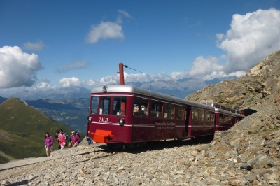 The stunning Tramway du Mont Blanc, over 100 years old, how on earth did they build it in 1907??!