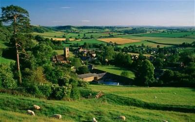 Ah the beautiful English countryside...