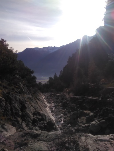 The beautiful, secluded gorge above Telfs