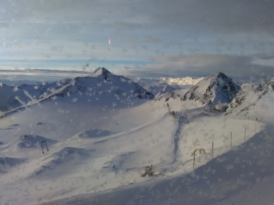 Arty mountains at Stubai