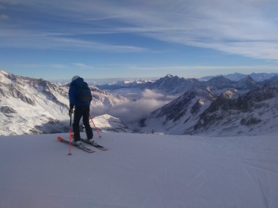 Stubai Gletcher, cold but very beautiful!