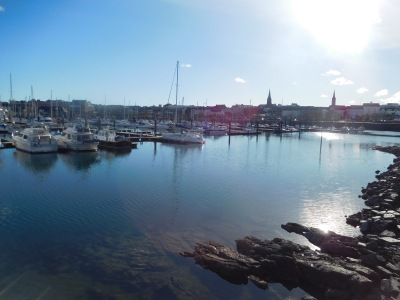 Bangor Marina in the sunshine