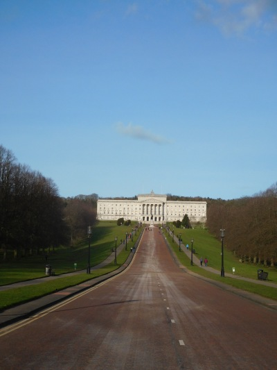 Stormont, hard to imagine a more majestic setting for a parliament