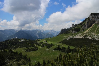 Looking over in to the Karwendel